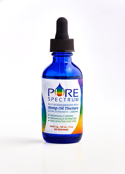 Pure Spectrum CBD XL Hemp Oil Tincture