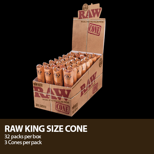 Raw Cones - All Sizes and Shapes