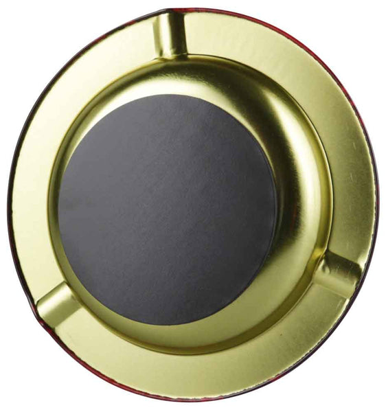 Raw Round Metal Ashtray - Magnetic - 5.5""