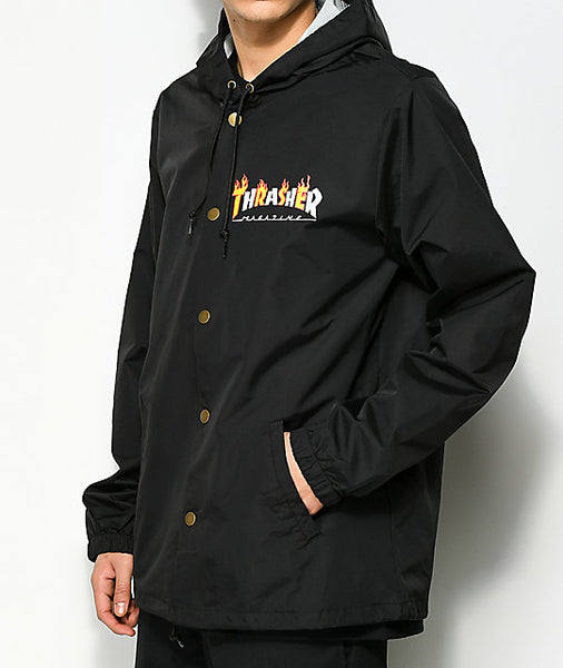 Thrasher Magazine - Flame Coach Jacket
