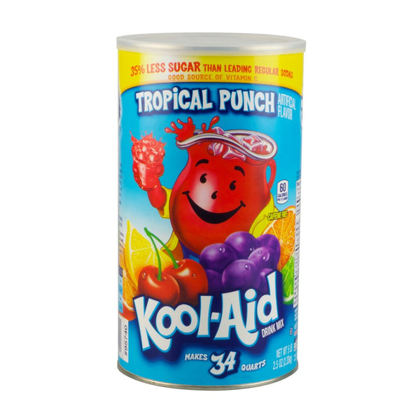 Tropical Kool-Aid Stash Can Security Container