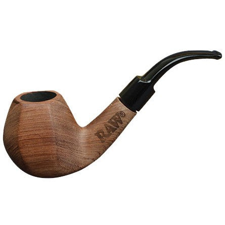 Raw Natural Wood Tobacco Pipe