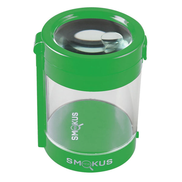 Smokus Focus LED Magnifying Stash Jar