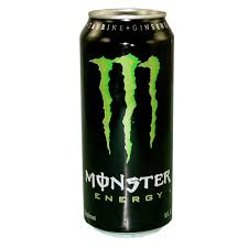 Monster Green Energy Drink Security Container