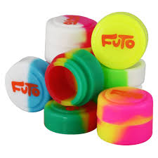 "Futo Oil Slick .85"" Silicone Container"