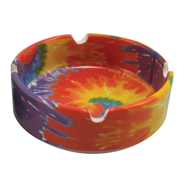 Tye Dye Ceramic Ashtray