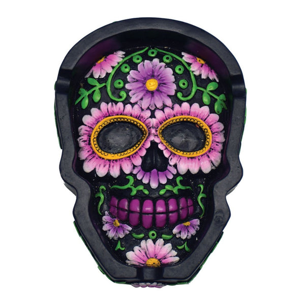 Day of the Dead Sugar Skull Ashtray