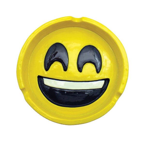 "4.2"" Emoji Polyresin Ashtray"