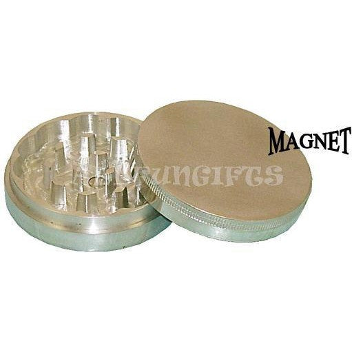"2"" Aluminum 2pc Grinder w/ Magnetic top"
