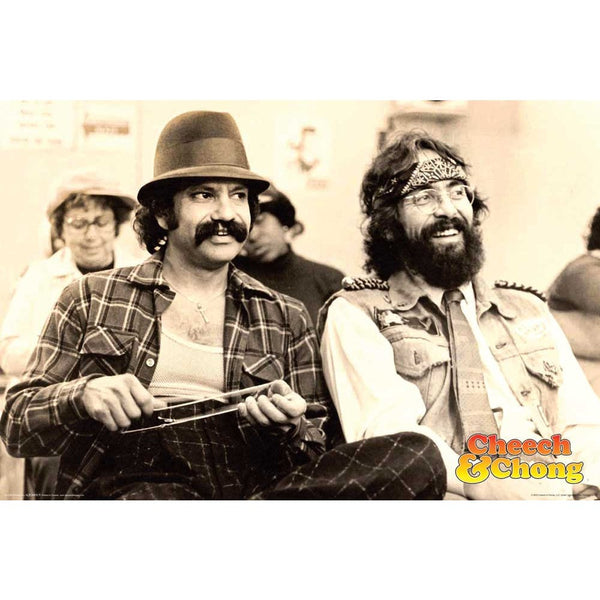 Cheech and Chong Posters - Black and White