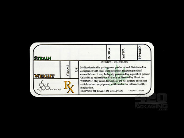 Generic Medical Rx Labels 13