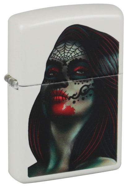 Zippo Lighter - Day of the Dead Lady