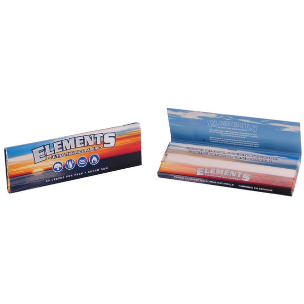 Elements - Ultra Thin Rice Paper - All Sizes