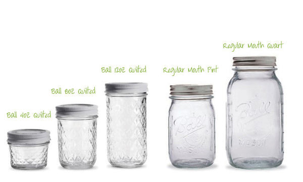 Ball Jars - Mason Jars - Airtight
