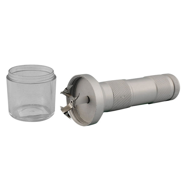 Handheld Battery Powered Aluminum Grinder - 6.75""