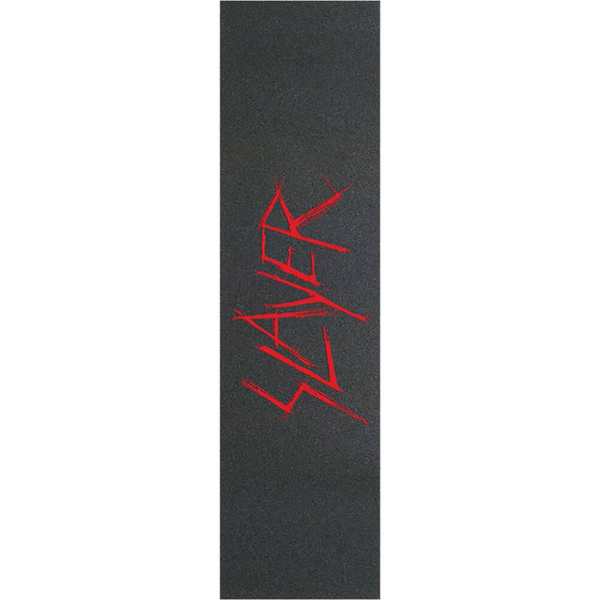 "Diamond Supply Co X Slayer Scratch Logo Black / Red Griptape - 9"" x 33"""