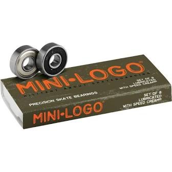 Mini Logo Bearings - Single Set of 8