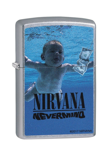 Nirvana Chrome Zippo Lighter