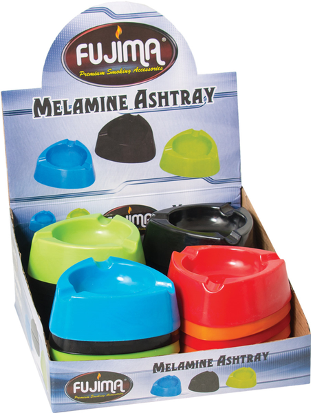 "Fujima Melamine Triangle Ashtray- 4.25""/Assorted"