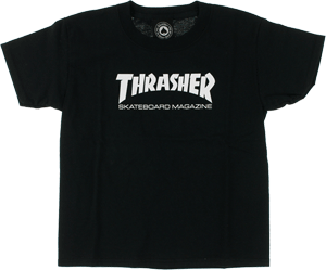 Thrasher Logo - Girl's T-shirt - BLK