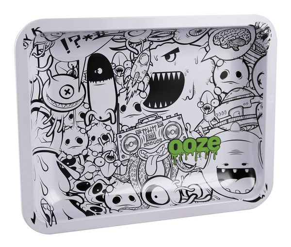 "Ooze Rolling Tray - Monsterous / 7""x5"" / Small"
