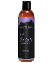 Intimate Earth Bloom Massage Oil - 120 ml Peony Blush