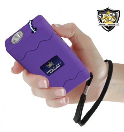 STREETWISE SMALL FRY 8,800,000* STUN GUN FLASHLIGHT PURPLE