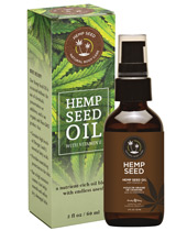 Earthly Body Hemp Seed Oil w/Vitamin E - 2 oz