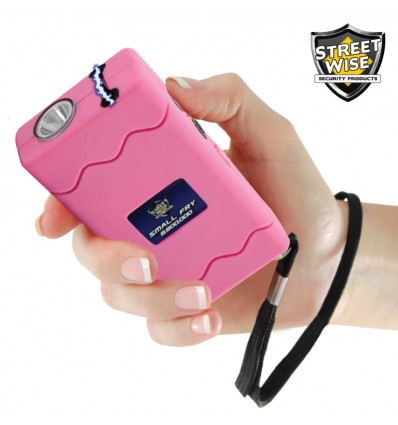 STREETWISE SMALL FRY 8,800,000* STUN GUN FLASHLIGHT PINK