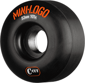 Mini Logo C-Cut 53mm 101a Black Skate Wheels