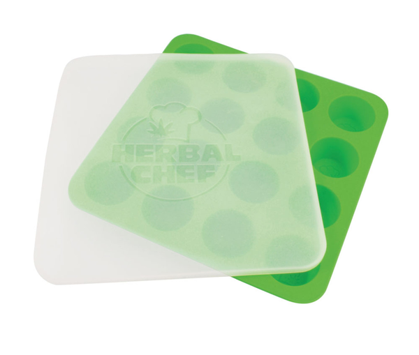 "Herbal Chef Silicone Tray w/ Lid- 8.5""x8.5"""