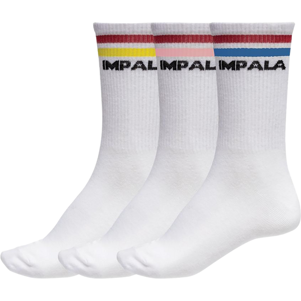 Impala 3Pk Socks Stripe