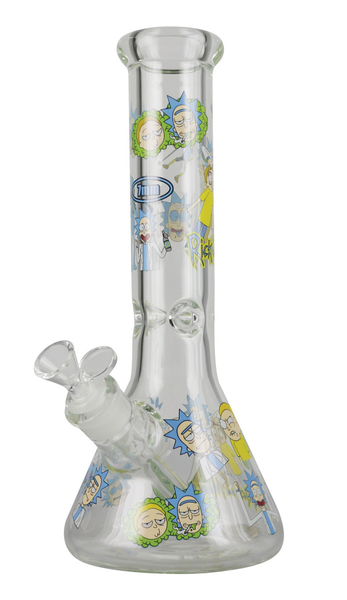and Morty Waterpipe #5 - 12.5""