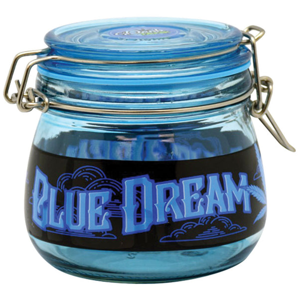 Blue Dream Glass Jar