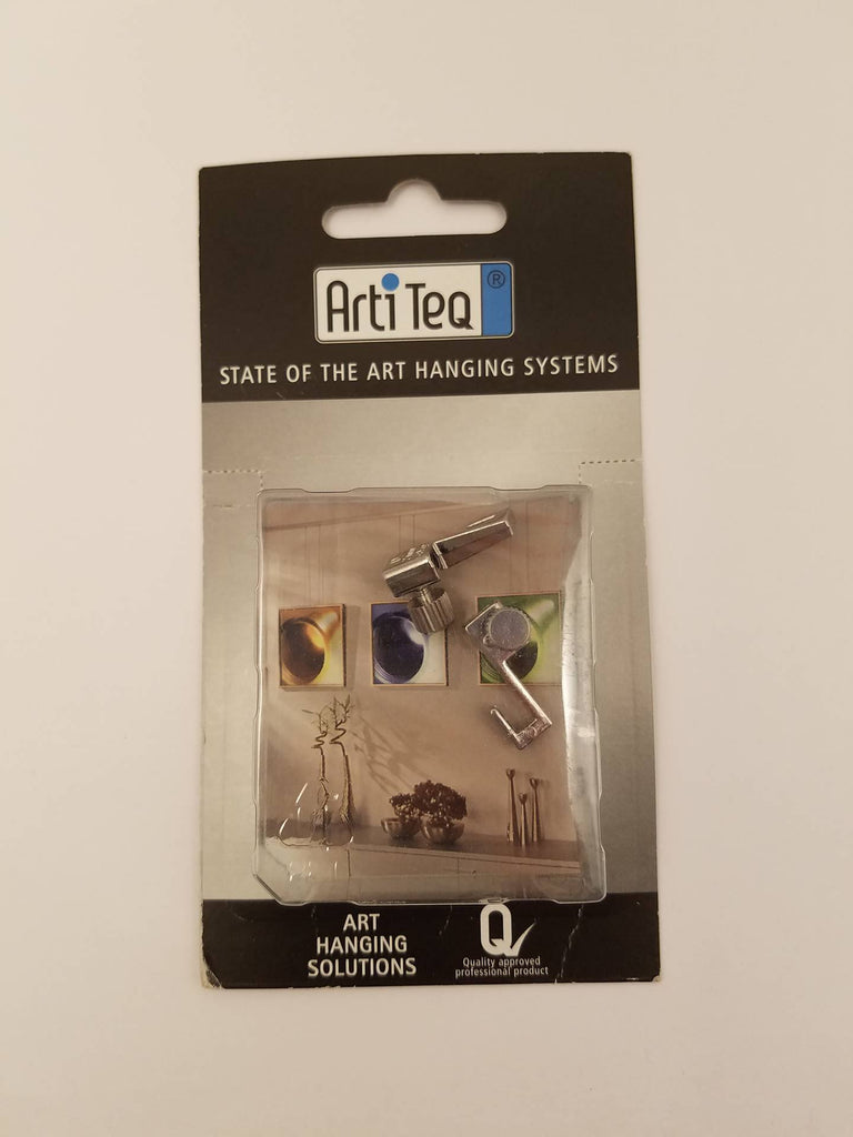 ADS Arti Medium Picture Hanging 4 kg (8.5 lb) 2 Hook Pack - ART DISPLAY SYSTEMS