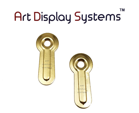 ADS 1 Hole Heavy Duty ZP D-Ring Hanger – No Screws – Pro Quality – 100 Pack