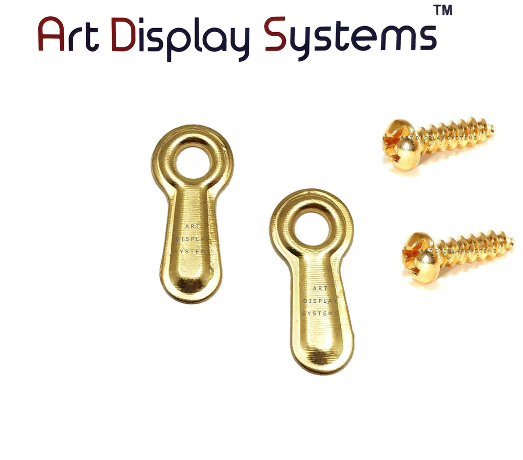 "ADS 3/4"" Inch Ridged BP Turnbutton - 100 6-1/2"" BP Screws - 100 Pack - ART DISPLAY SYSTEMS"