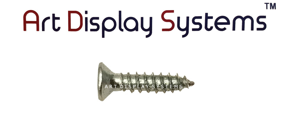 "ADS #4-1/2"" Zinc Plated Screws - ART DISPLAY SYSTEMS"