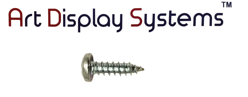 "ADS #6-1/2"" Zinc Plated Screws - ART DISPLAY SYSTEMS"