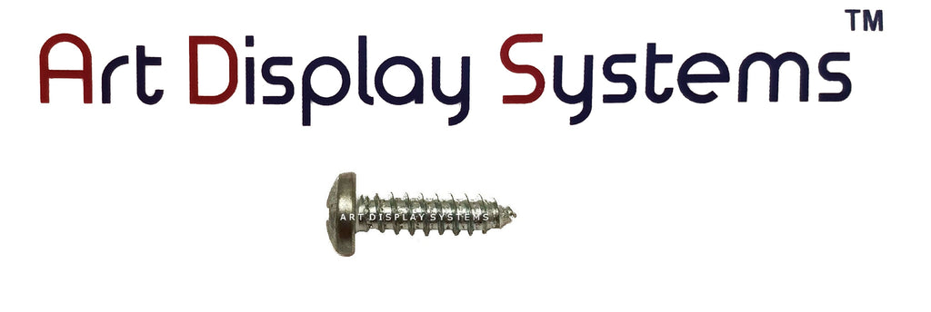 "ADS #8-1/2"" Zinc Plated Screws - ART DISPLAY SYSTEMS"