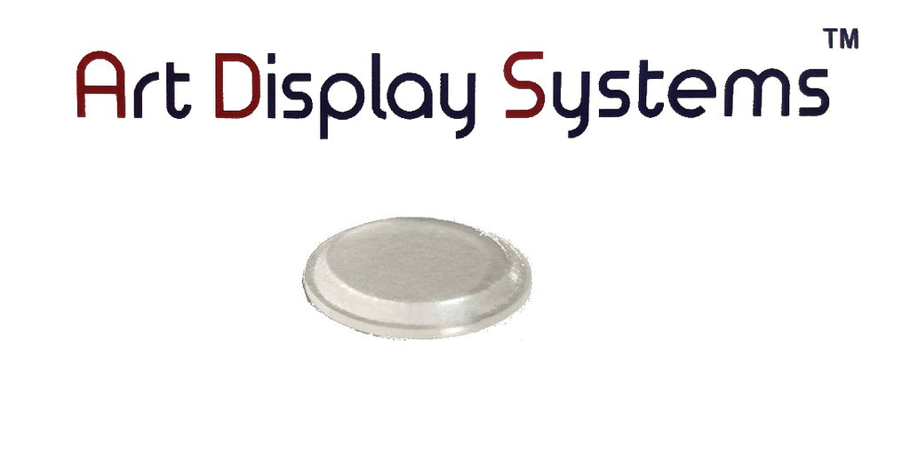 Art Display Systems Clear Cylindrical (0.50 x 0.06) Self-Adhesive Protective Non-Skid Bumpers – Pro Quality - ART DISPLAY SYSTEMS