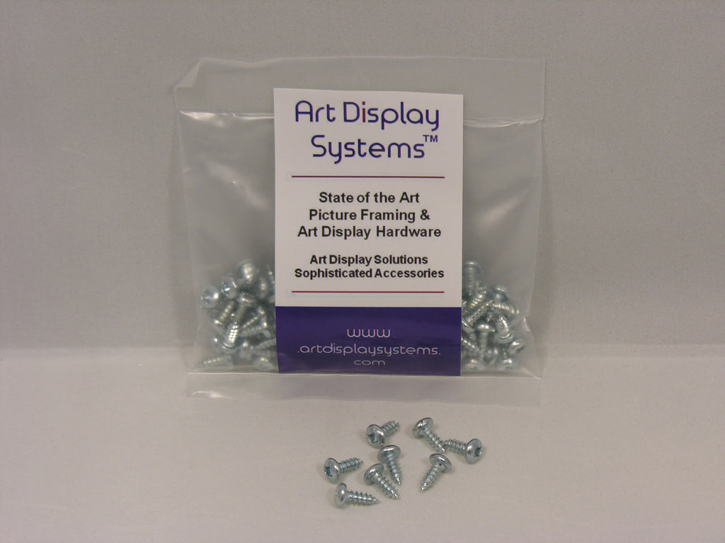 D-Ring Picture Hanger with #6-3/8 Screws - ART DISPLAY SYSTEMS
