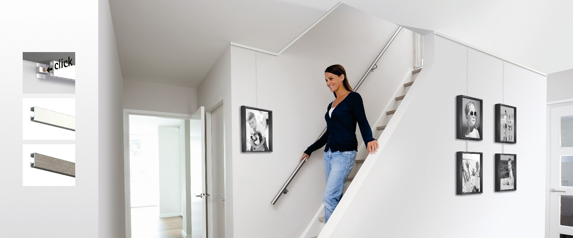 Gallery System Professional Hanging Art Home