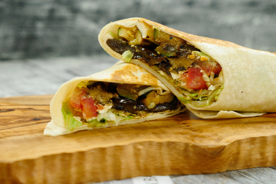 Grilled Veggie Wrap - Basilique