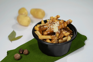 Hot lamb Poutine - Basilique