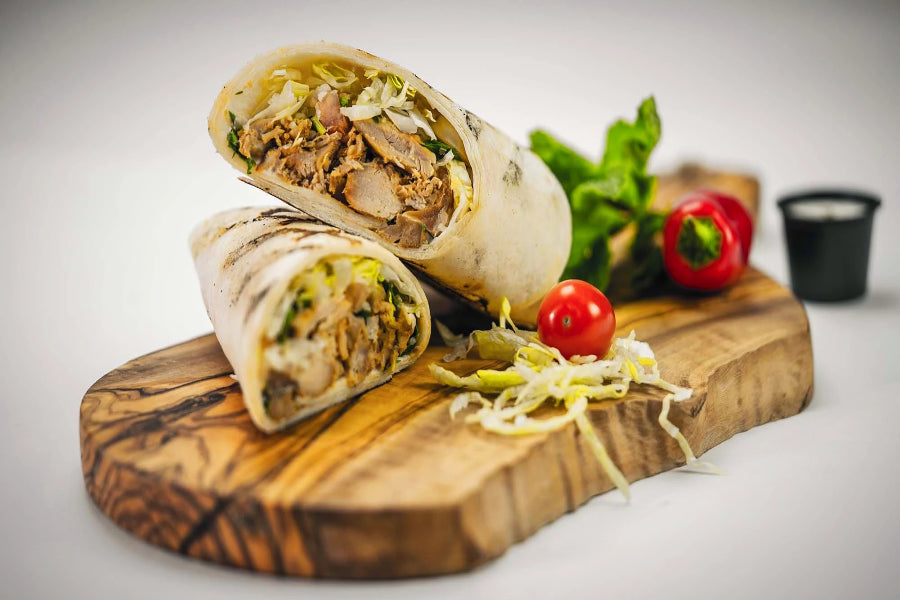 Chicken Shawerma Wrap