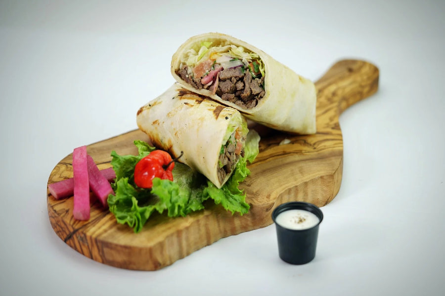 Mix Shawerma Wrap - Basilique