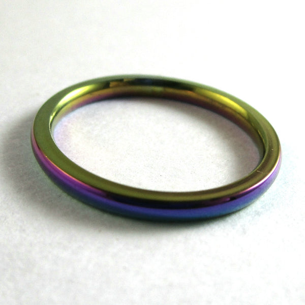 2mm Multichrome Rings - (Limited Qty)