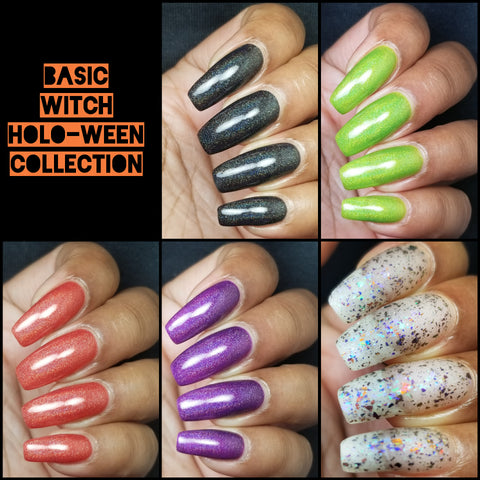 Basic Witch Holo-ween Collection (Preordering Sept 20th)