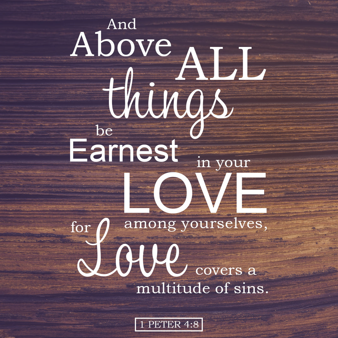 Inspirational Verse of the Day - Above All Things